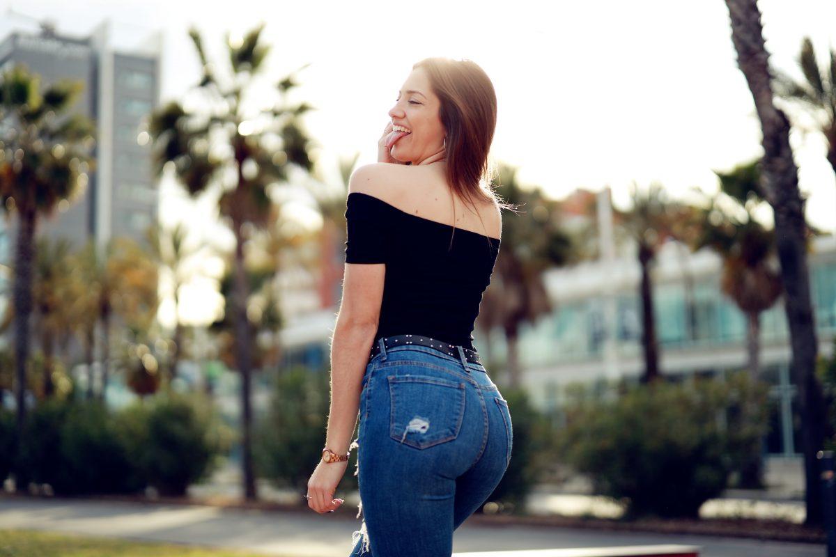 Модерни дънки и дънки демоде