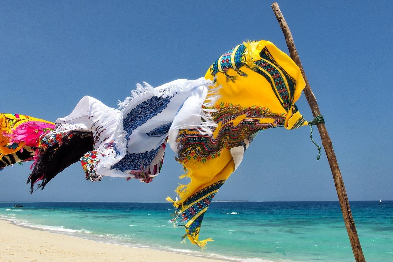 носене на шалове през лятото