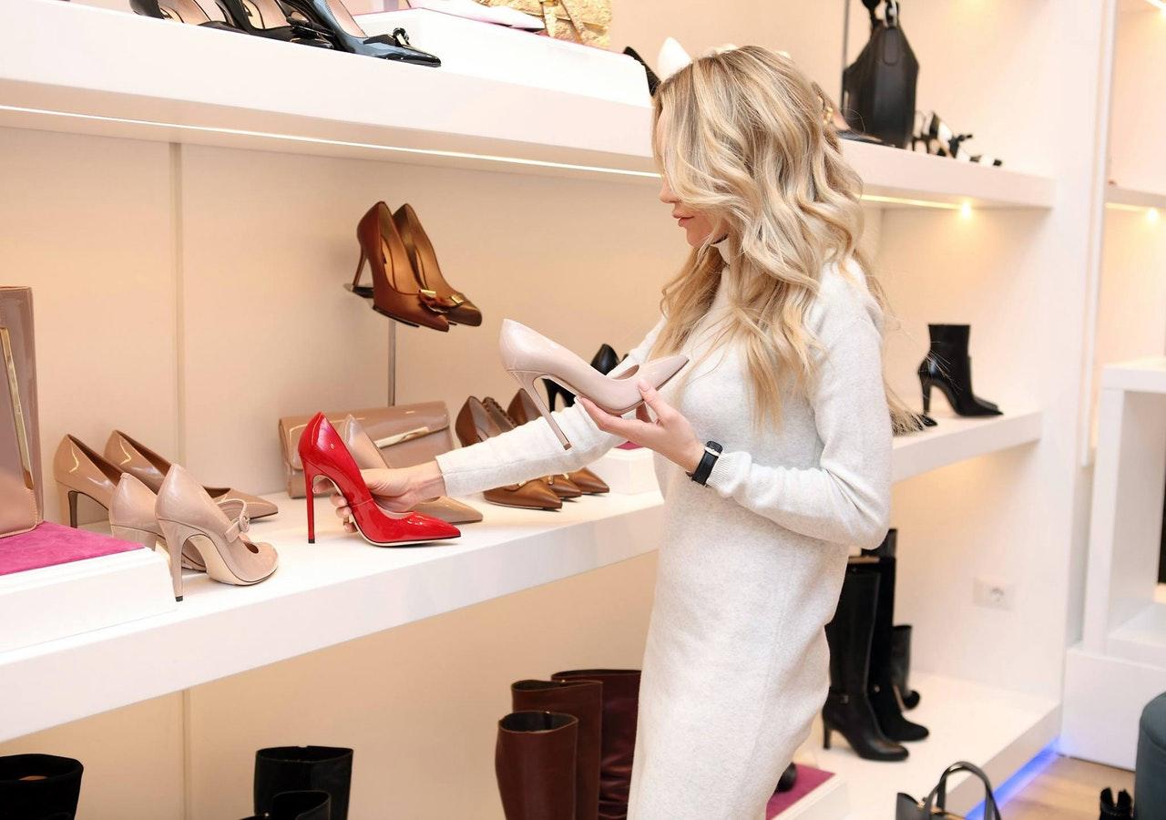 идеален гардероб за обувки
